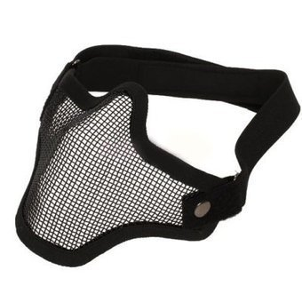 Strike Steel Mesh Half Face Airsoft Mask | Airsoft Paintball Mask | Scoop.it