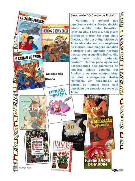 BIBLIOTECAS ESCOLARES AGRUPAMENTO DE ESCOLAS DE ... | Bibliotecas Escolares | Scoop.it