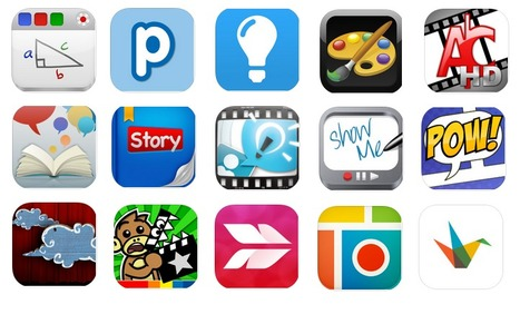 15 iPad Apps to Enhance Students Creativity ~ Educational Technology and Mobile Learning | iOS in CSD | Scoop.it