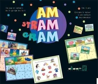 Am Stram Gram, quatre jeux de rimes - conscience phonologique | AM STRAM GRAM, la conscience phonologique | Scoop.it