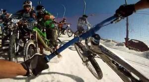 Vidéo : Crash au départ de la Megavalanche 2012 | Enduro Tribe | 100% VTT | Scoop.it