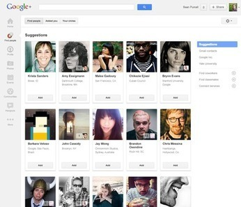 Google+ renames 'Circles' tab to 'Find People' to add layer of relevancy | Socialized SEO | Scoop.it