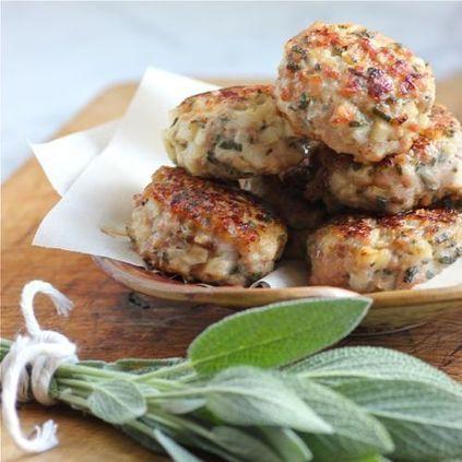 #Healthy #Recipe / Chicken, Apple & Fresh Sage Sausage Patties   Executive development   Scoop.it