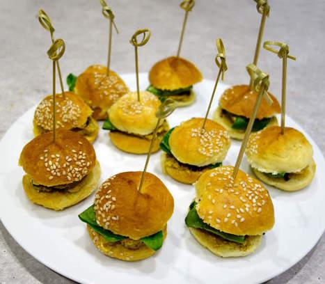 Mini burgers au foie gras du Gers - Et si c'était bon... | foie gras | Scoop.it