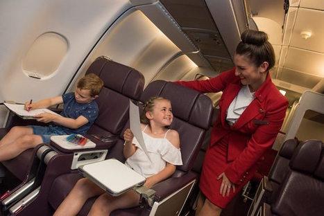 La compagnie aérienne Virgin Atlantic achète 2000 livres pour les enfants | Entrepreneurs, leadership & mentorat | Scoop.it
