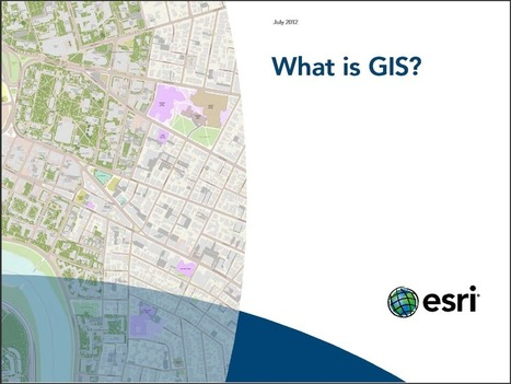 E-books Gratuitos da Esri sobre GIS | Anderson Medeiros | ArcGIS-Brasil | Scoop.it