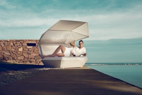Faz Daybed by Ramon Esteve for VONDOM » CONTEMPORIST | everything-is-art | Scoop.it