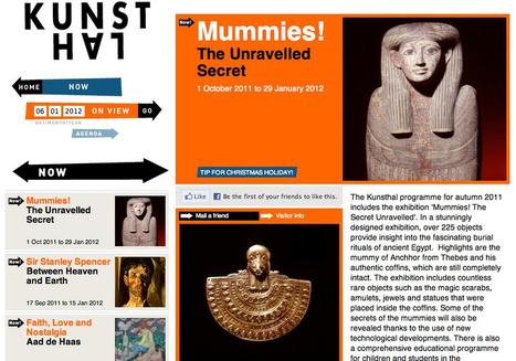 Tour du monde numérique des musées et expositions | Cabinet de curiosités numériques | Scoop.it