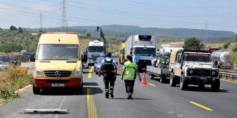 Accident sur l'A9, à Montpellier : poids lourd renversé, un blessé - Midi Libre | Autoroute A9 | Scoop.it