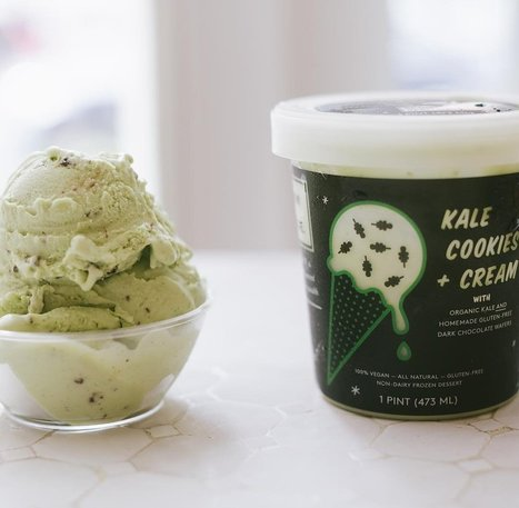 This Kale Ice Cream (Yes, Really) Is Summer's Tastiest, Healthiest Treat | Urban eating | Scoop.it