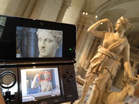 le Louvre et sa 3DS, simple coup marketing?   Art Museums Trends   Scoop.it