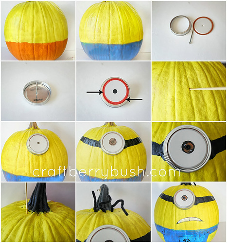 How to Make Halloween Minions Pumpkins   Technology in Art And Education   Scoop.it