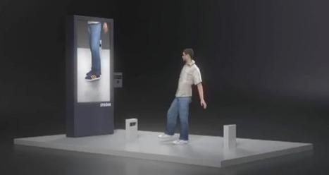 Essayer des chaussures virtuellement grâce à Kinect   Tablettes et Smartphones   Scoop.it