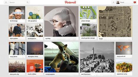 Pinterest : les centres d'intérêt sont en cours de déploiement | Améliorer son image sur le web | Scoop.it