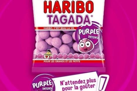 Alerte bonbecs : les fraises Tagada existent désormais en violet | Food & consumer goods | Scoop.it