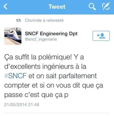 Quand Twitter s'amuse du fail de la SNCF... | Culture G | Scoop.it