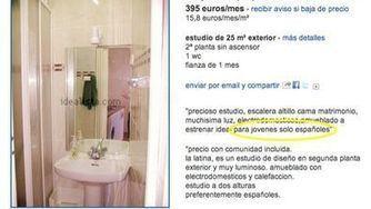 """Se alquila piso"" (abstenerse extranjeros) | Actualidad social | Scoop.it"