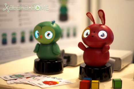 IXI Play, le robot connecté pour divertir les plus petits ! | Actualité robotique | Scoop.it