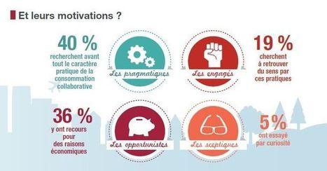 Economie collaborative : le portrait-robot du consommateur (infographie) | Consommation collaborative | Scoop.it