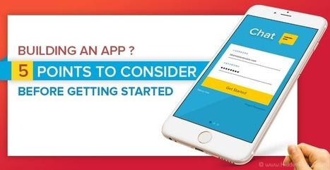 Building An App: 5 Points To Consider Before Getting Started - DZone Mobile | Awesome presentation | Scoop.it