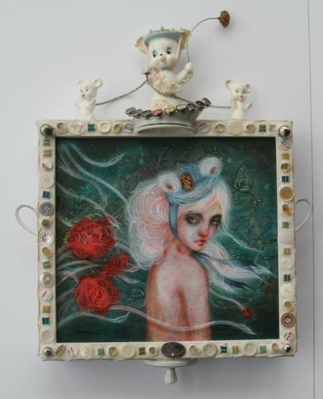 Lara Dann | Painter | les Artistes du Web | Scoop.it