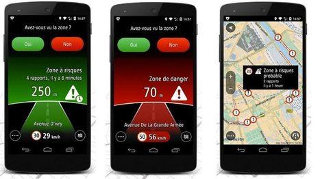 TomTom lance l'appli Zones de danger sur Google Play   Informatique TPE   Scoop.it