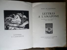 3 novembre 1910  | Remy de Gourmont, «Lettre intime» à l'Amazone #TdF #éphéméride_culturelle_à_rebours | TdF  |  Éphéméride culturelle | Scoop.it