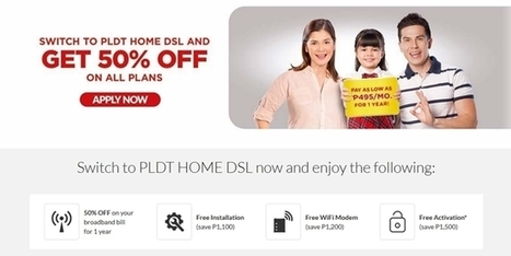 PLDT Home DSL 50% OFF On All Plans, Save As Much As Php1,500 Per Month | NoypiGeeks | Philippines' Technology News, Reviews, and How to's | Gadget Reviews | Scoop.it