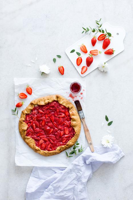 Tarte rustique aux fraises | Passion for Cooking | Scoop.it