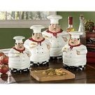 Fat Chef Kitchen Canister Set of 4 | Kitchen Canister Sets | Scoop.it