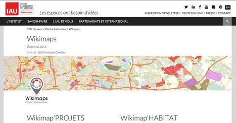 [Île-de-France] Wikimaps PROJETS & HABITAT: cartes collaboratives des projets & des opérations groupées de logements | URBANmedias | Scoop.it