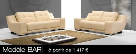 Salon Cuir, Canape d'angle, Canapé Cuir italien Discount | Bellaligna | Bellaligna | Scoop.it