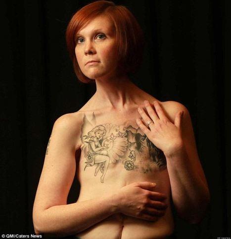 LOOK: One Survivor's Incredible Self-Portraits | onconnect | Scoop.it