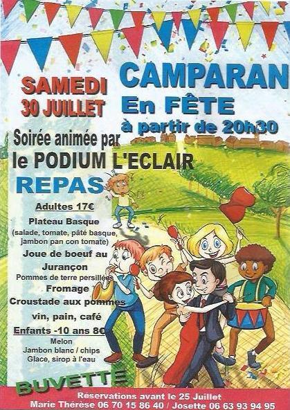 Fête de Camparan le 30 juillet | Vallée d'Aure - Pyrénées | Scoop.it