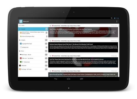 NewsJet, RSS Reader for Android | RSS Circus : veille stratégique, intelligence économique, curation, publication, Web 2.0 | Scoop.it