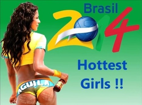 Girls Of The World Cup: Beautiful Photos Of Football Fans | Epic pics | Scoop.it
