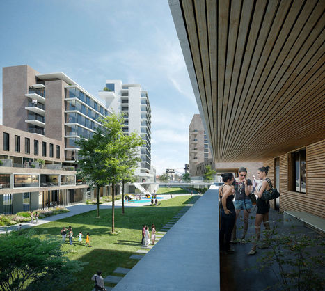 A Vitry-sur-Seine, vivre avec le risque de crue   D'Dline 2020, vecteur du bâtiment durable   Scoop.it