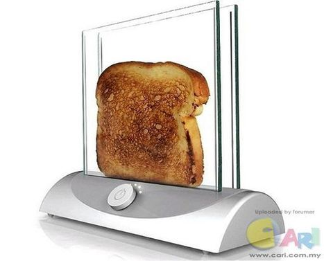 See-through Toaster | Crazy Inventions | Scoop.it