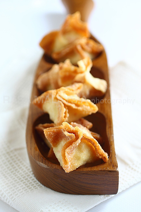 Crab Rangoon Recipe | Easy Asian Recipes at RasaMalaysia.com | @FoodMeditations Time | Scoop.it
