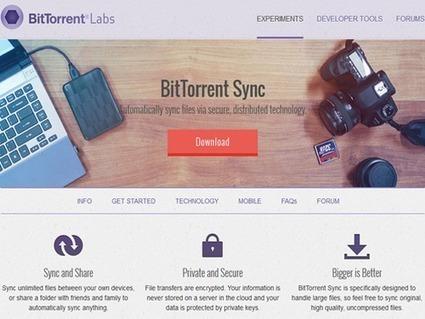 BitTorrent Sync : le partage de fichiers simplifié et sécurisé | Le Top des Applications Web et Logiciels Gratuits | Scoop.it