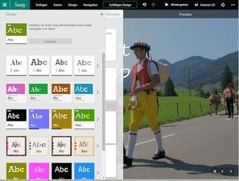 Web2-Unterricht: Präsentation mit Microsoft Sway erstellen | Schule | Scoop.it