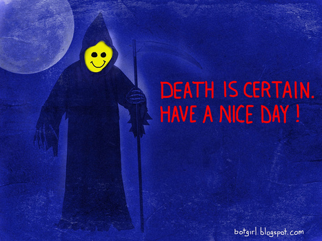 A Message From The Smiley Reaper | Virtual Identity | Scoop.it