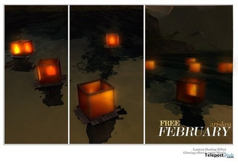 Floating Lantern February 2016 Group Gift by Ariskea | Teleport Hub - Second Life Freebies | Second Life Freebies | Scoop.it