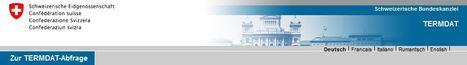 TERMDAT Banca dati terminologica | Cancelleria federale svizzera | NOTIZIE DAL MONDO DELLA TRADUZIONE | Scoop.it