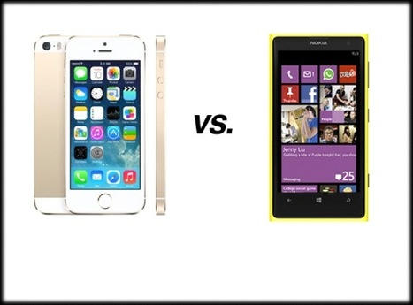 Apple iPhone 5S vs. Nokia Lumia 1020.. how they compare | Mobile Technology | Scoop.it