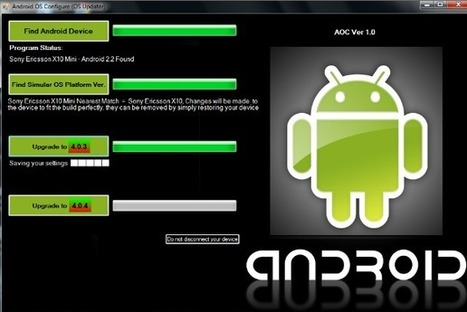 Upgrade Android 2.3 to 4.0 using Android OS Configure (OS Updater) | Bombillito | Scoop.it