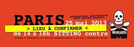Sitting Contre Monsanto - Paris (LIEU EN ATTENTE) | Facebook | Code Planète | Scoop.it