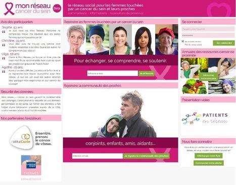 Nouveau réseau pour les patientes atteintes d'un cancer du sein et leurs proches | Patient 2.0 et empowerment | Scoop.it