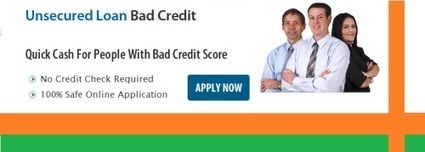 What Are The Popular Attributes Of Unsecured Loan Bad Credit That Increase Its Popularity? | Unsecured Loans Bad Credit | Scoop.it