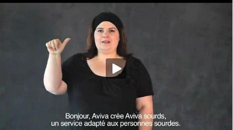 Assistance : Aviva a lancé un service clients pour les sourds | handicap et surdité | Scoop.it